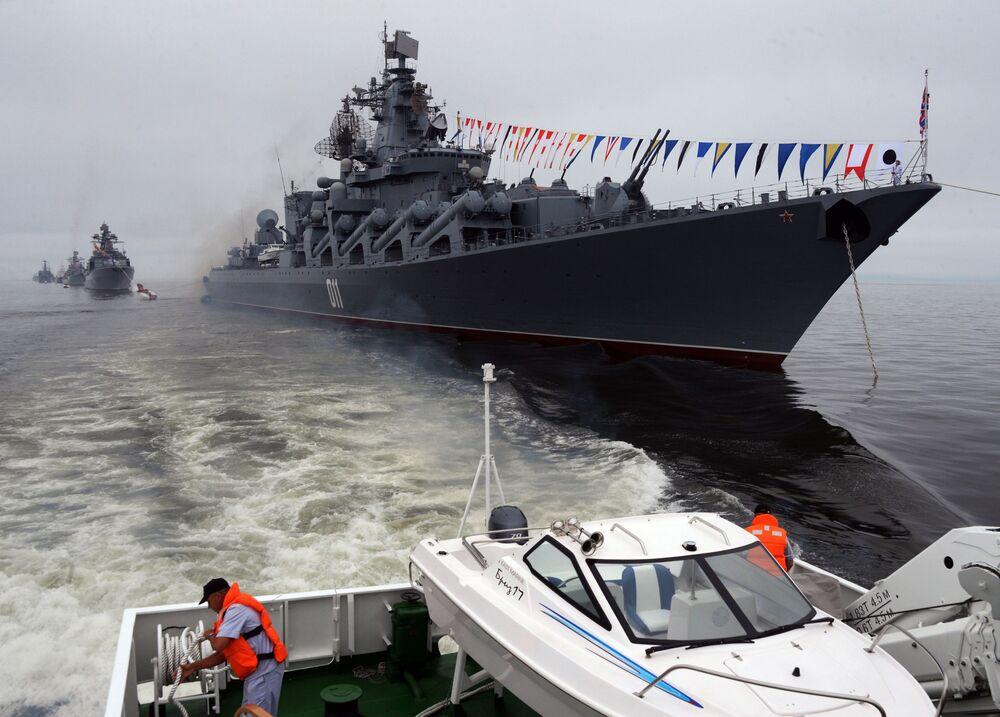 """Rosyjski krążownik rakietowy projektu 1164 """"Wariag"""""""