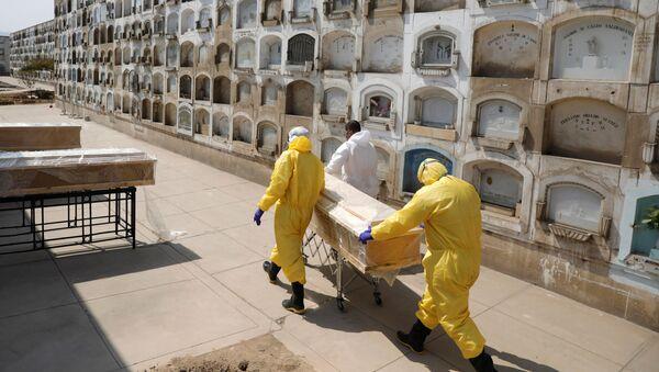 Epidemia koronawirusa w Limie, Peru - Sputnik Polska