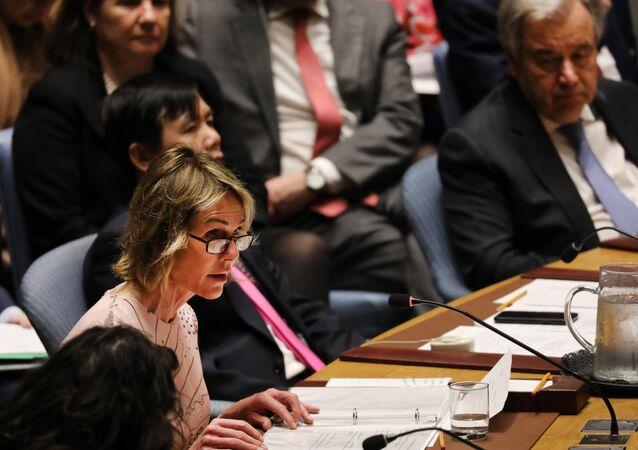 Ambasador USA przy ONZ Kelly Craft
