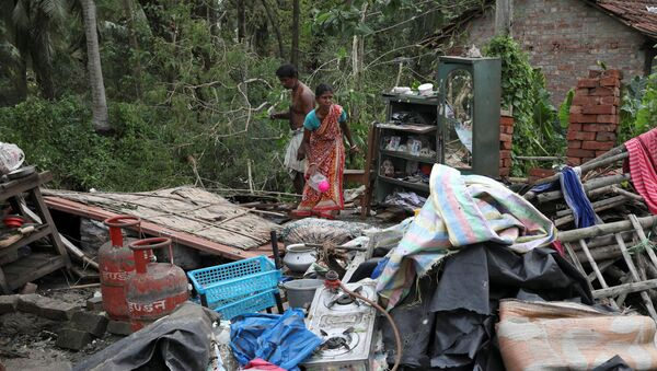 """Skutki cyklonu """"Ampan"""" w stanie Bengal Zachodni w Indiach - Sputnik Polska"""