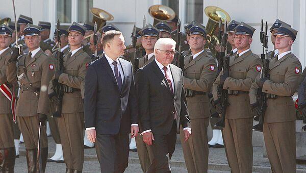 Prezydent Andrzej Duda i prezydent Niemiec Frank-Walter Steinmeier  - Sputnik Polska
