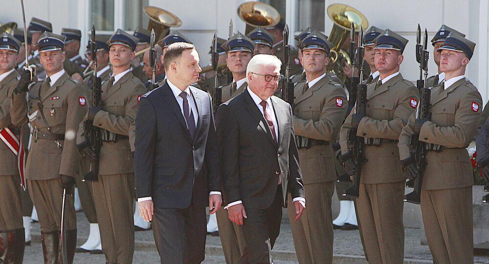 Prezydent Andrzej Duda i prezydent Niemiec Frank-Walter Steinmeier