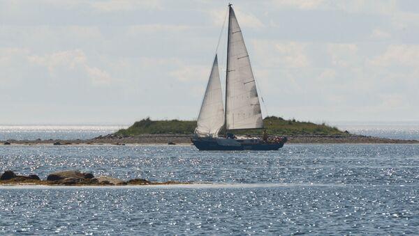 Jacht na morzu - Sputnik Polska