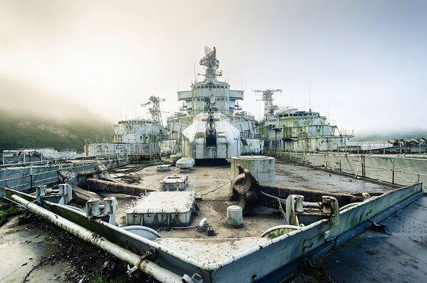 Cmentarzysko okrętów wojennych znalezione przez blogera Boba Thiessena - Sputnik Polska