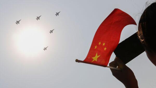 Bombowiec Xian H-20 ma zostać pokazany publicznie w listopadzie na pokazie lotniczym AirShow China w Zhuhai - Sputnik Polska