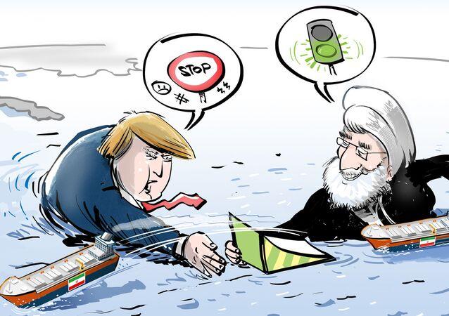 """Iran rozprawił się z paliwowym embargo tuż """"przed nosem"""" USA"""