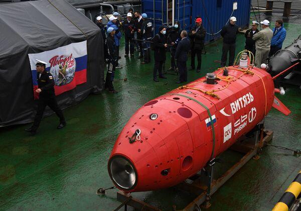 """Autonomiczny bezzałogowy pojazd podwodny """"Witiaź-D"""" - Sputnik Polska"""