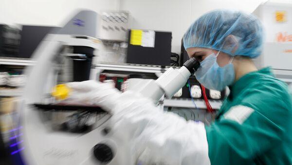 Laboratorium w Petersburgu - Sputnik Polska