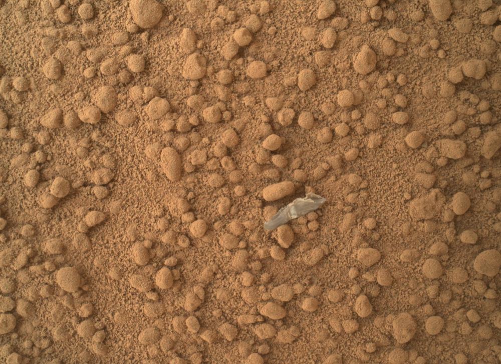 """""""Kawałek plastiku"""" na Marsie"""