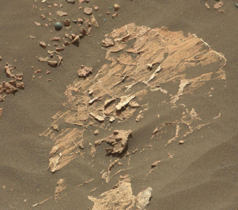 Mała kula na Marsie