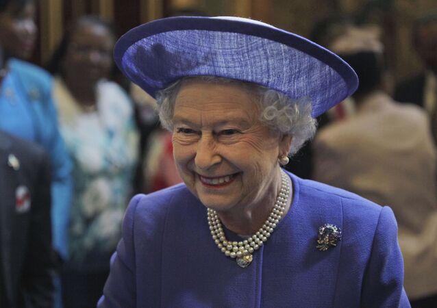 Królowa Wielkiej Brytanii Elżbiety II