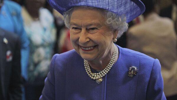 Królowa Wielkiej Brytanii Elżbiety II - Sputnik Polska