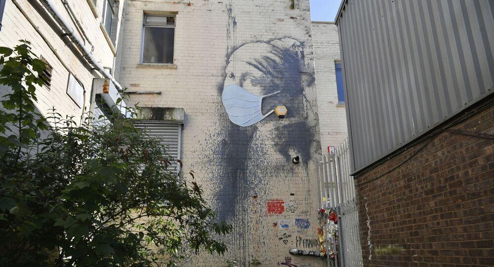 Mural w Wielkiej Brytanii