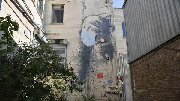 Mural w Wielkiej Brytanii - Sputnik Polska
