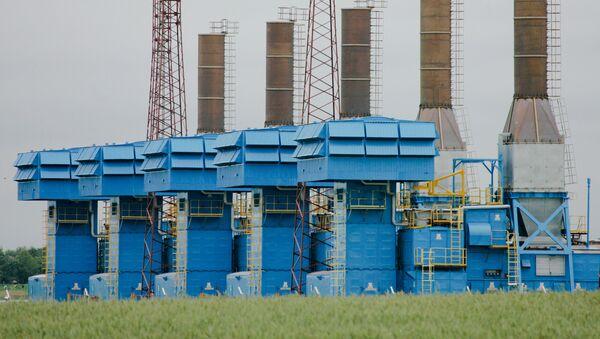 Stacja kompresji gazu Minskaja na białoruskim odcinku gazociągu Jamał-Europa - Sputnik Polska