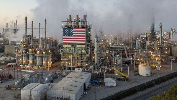 Rafineria w Los Angeles, USA. - Sputnik Polska