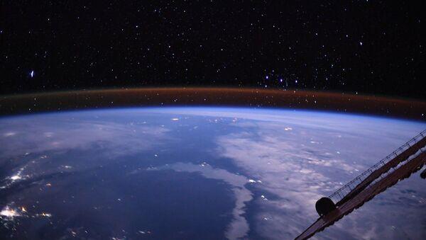 Widok na Ziemię z pokładu MSK - Sputnik Polska