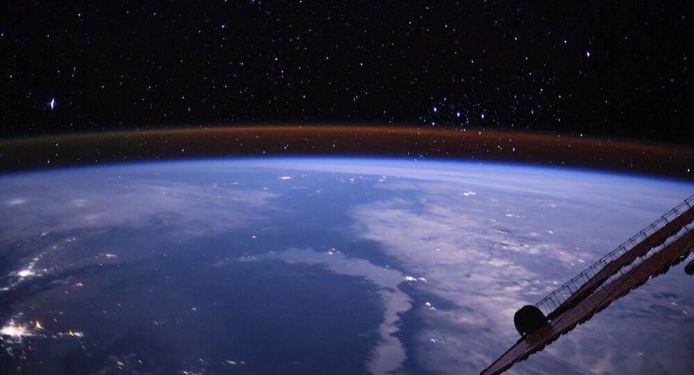 Widok na Ziemię z pokładu MSK