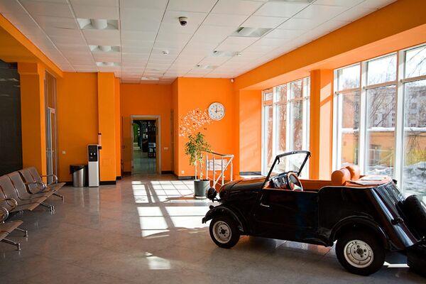 Hol państwowej biblioteki dla młodzieży w Moskwie - Sputnik Polska
