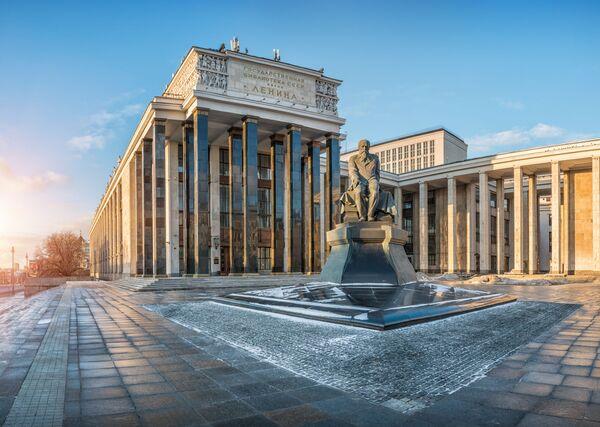 Rosyjska Biblioteka Państwowa im. Lenina - Sputnik Polska