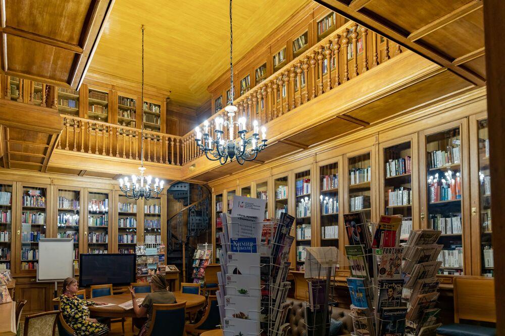 Biblioteka Majakowskiego w Petersburgu