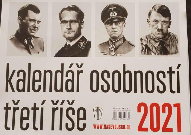 Kalendarz z nazistami wydany przez czeską oficynę