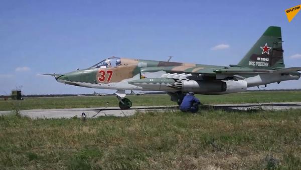 Lotnictwo Południowego Okręgu Wojskowego rozpoczyna przygotowania do Defilady Zwycięstwa - Sputnik Polska