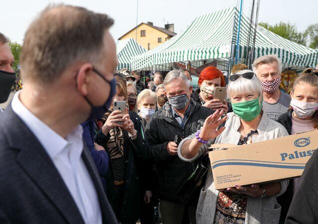 Prezydent Andrzej Duda w Gawrolinie