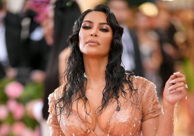 Amerykańska celebrytka Kim Kardashian