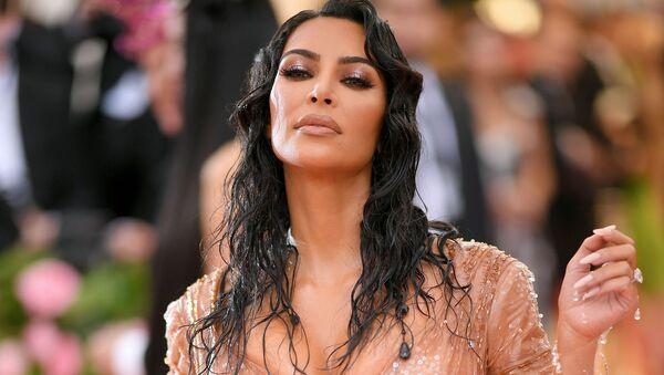 Amerykańska celebrytka Kim Kardashian - Sputnik Polska