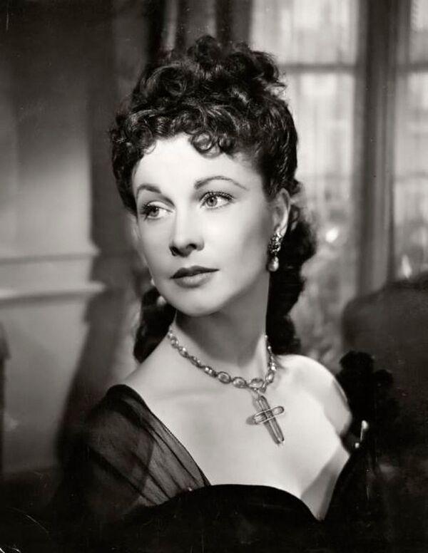 Brytyjska aktorka Vivien Leigh, 1948 rok - Sputnik Polska