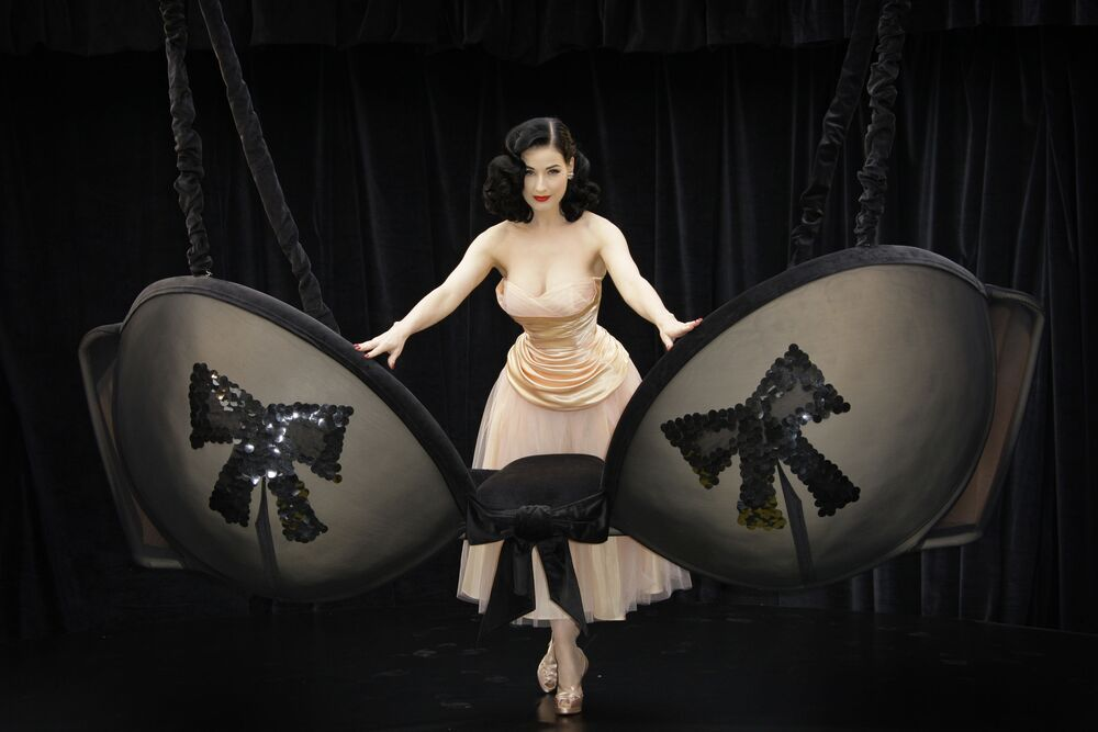 Tancerka Dita Von Teese