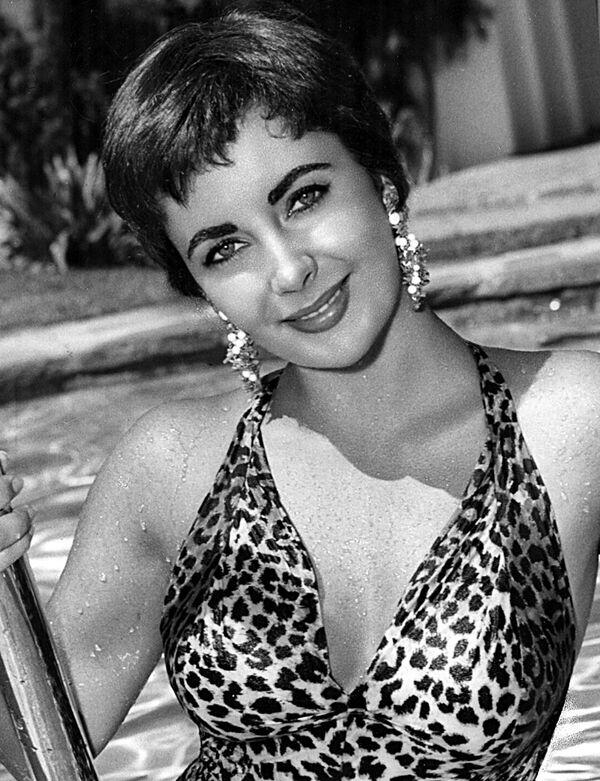 Aktorka Elizabeth, 1954 rok - Sputnik Polska