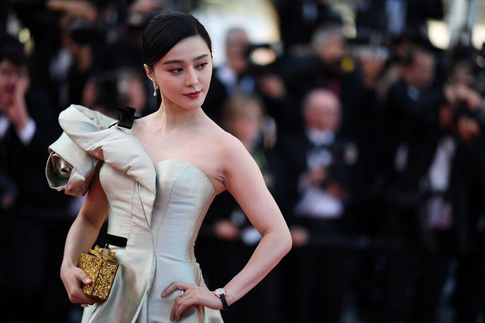 Chińska aktorka Fan Bingbing
