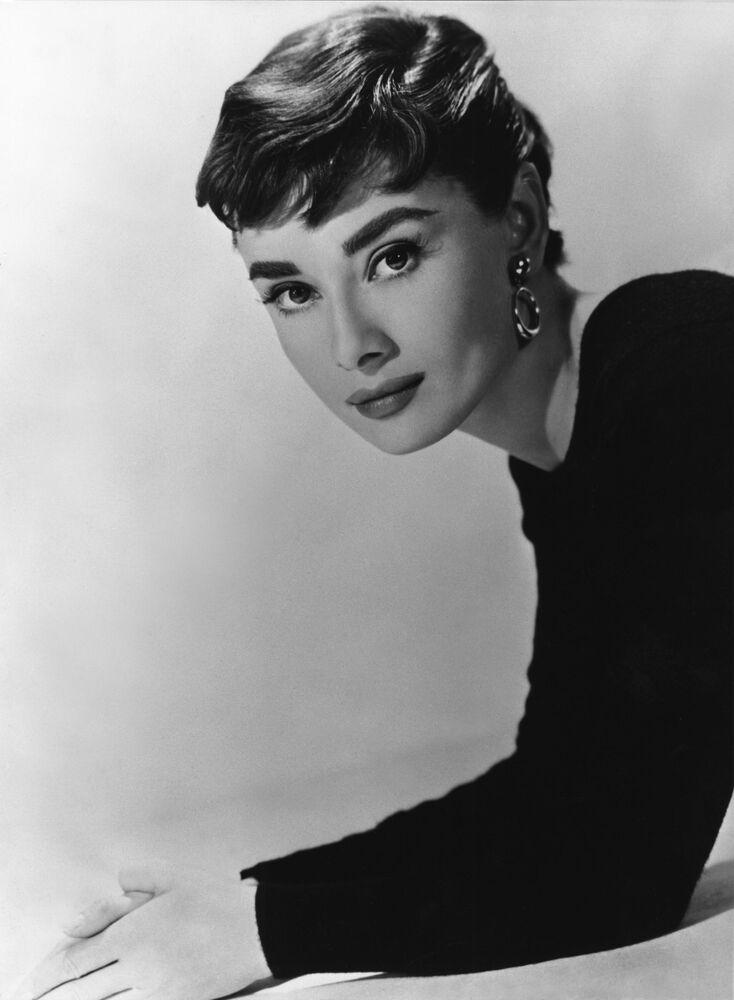 Aktorka Audrey Hepburn w 1948 roku