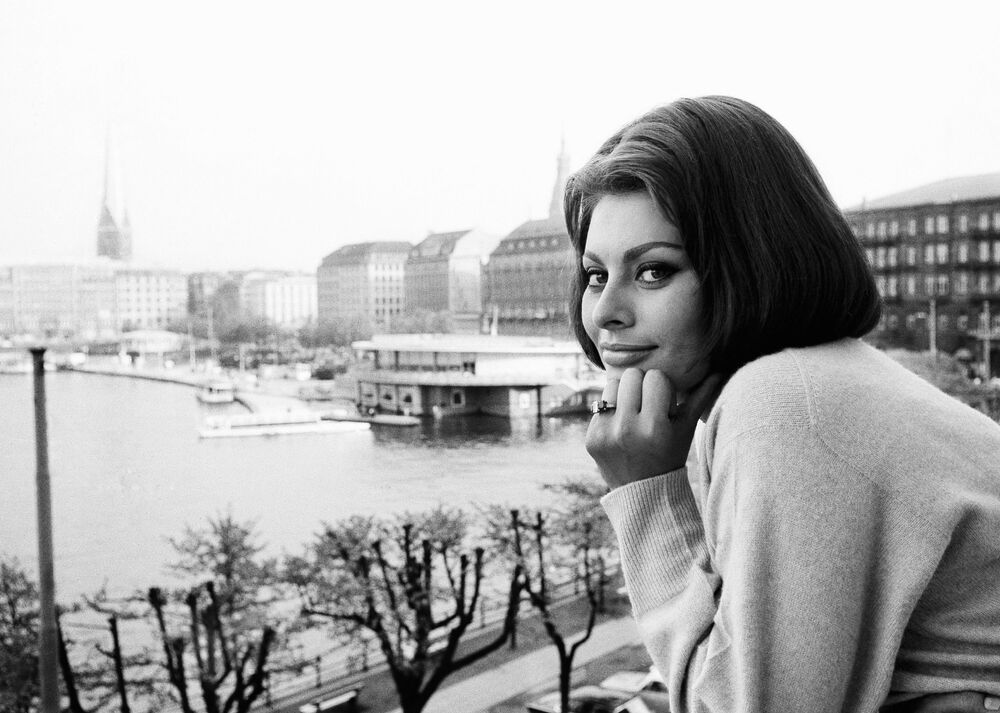 Włoska aktorka Sophia Loren, 1962 rok