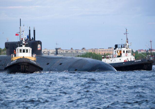 """Okręt podwodny z napędem atomowym """"Kniaź Władimir"""""""