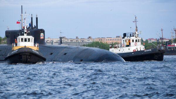 """Okręt podwodny z napędem atomowym """"Kniaź Władimir"""" - Sputnik Polska"""