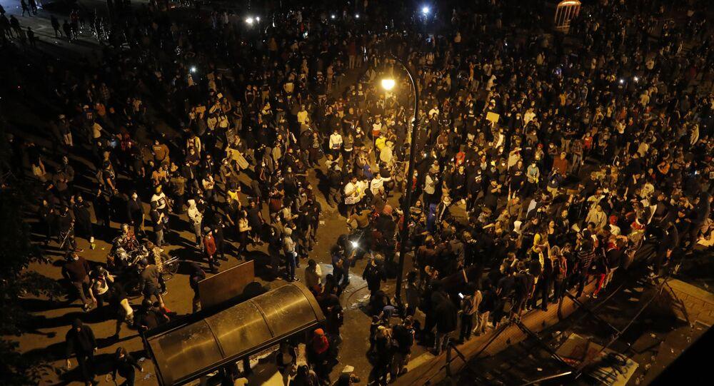 Masowe protesty w Minneapolis, USA