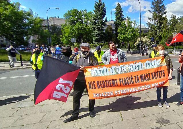 Tarcza Społeczna – lewica przyszła pod Sejm