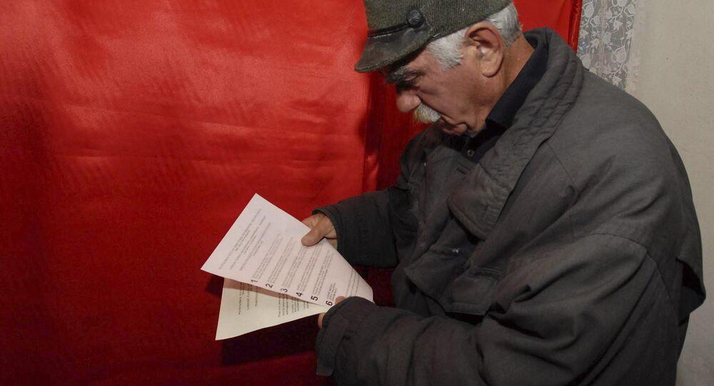Wybory w Jered, Osetia Poudniowa