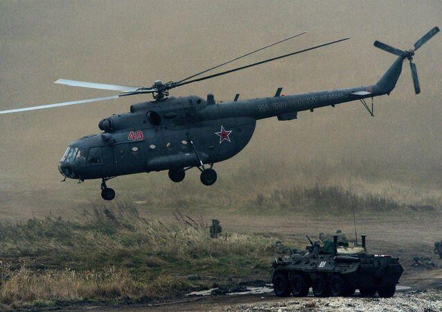 Śmigłowiec Mi-8