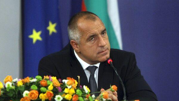 Szef bułgarskiego rządu Bojko Borisow - Sputnik Polska