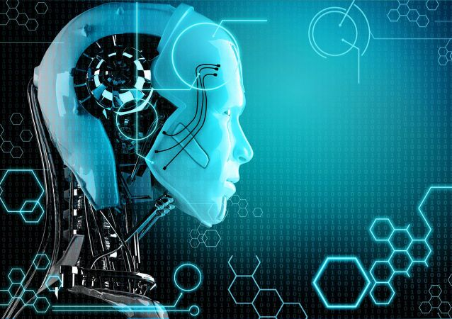 Model robota ze sztuczną inteligencją