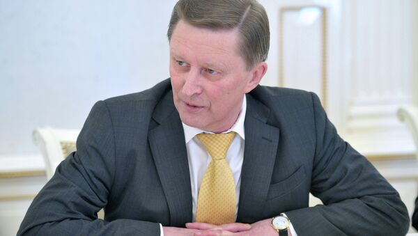 Szef administracji prezydenta Rosji Siergiej Iwanow - Sputnik Polska