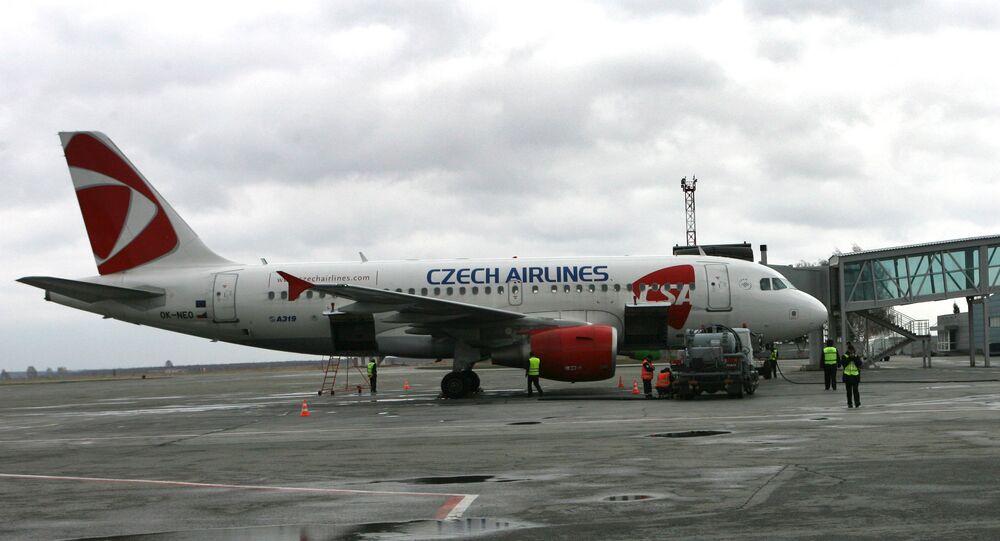 Samolot linii lotniczych Czech Airlines