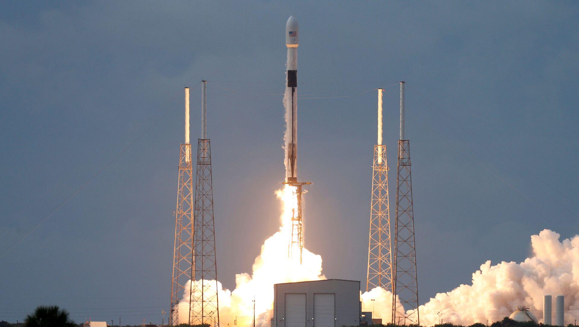Start Falcon 9 w 2019 - Sputnik Polska, 1920, 22.05.2021