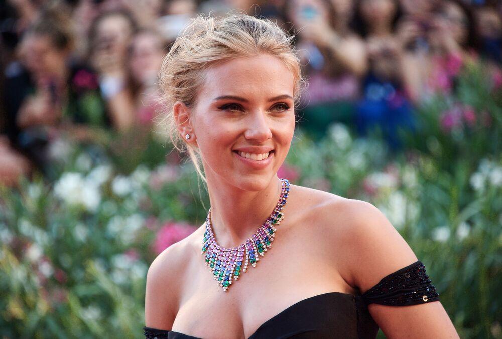 Aktorka Scarlett Johansson na 70. Międzynarodowym Festiwalu Filmowym w Wenecji