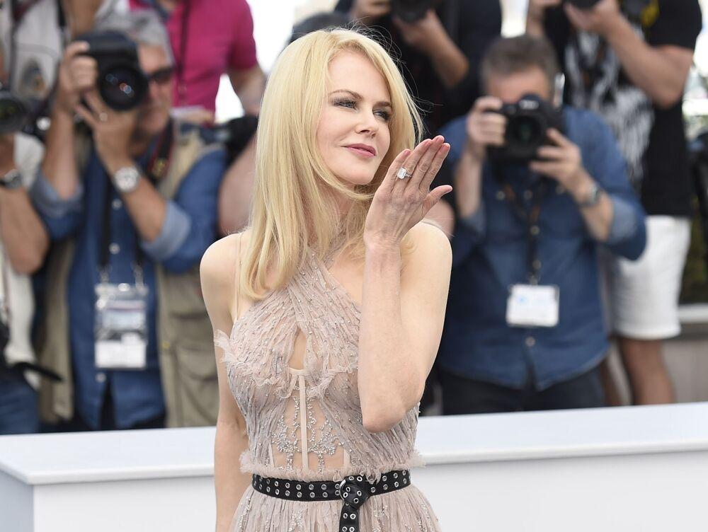 Aktorka Nicole Kidman na 70. Międzynarodowym Festiwalu Filmowym w Cannes