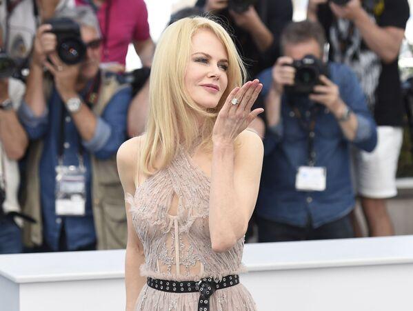 Aktorka Nicole Kidman na 70. Międzynarodowym Festiwalu Filmowym w Cannes - Sputnik Polska